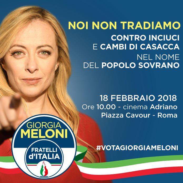 On. Giorgia Meloni