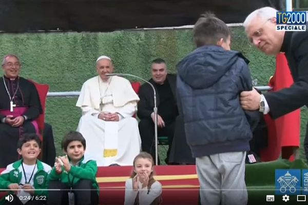 Papa Francesco a Corviale