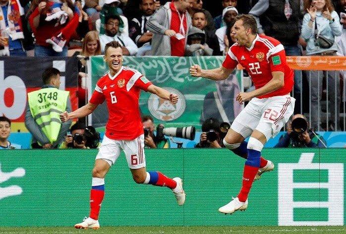 Russia nel match inaugurale